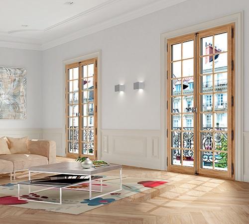 fenêtres bois sy le fenetres et portes sybaie