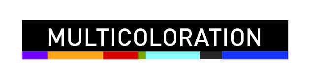 multicoloration fenêtre sybaie