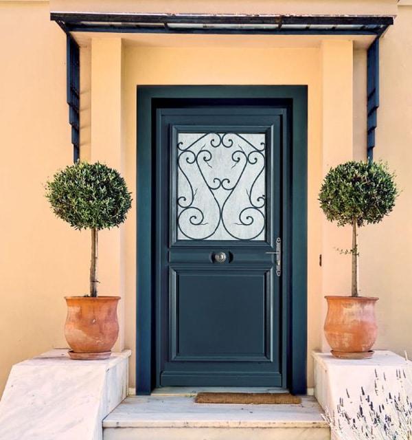 ambiance portes d'entrée bois sybaie
