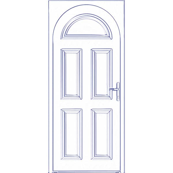 Portes d 39 entr e alu et mixte sybaie fen tres et portes for Porte et fenetre sur mesure