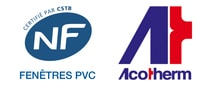 logo nf + acotherm