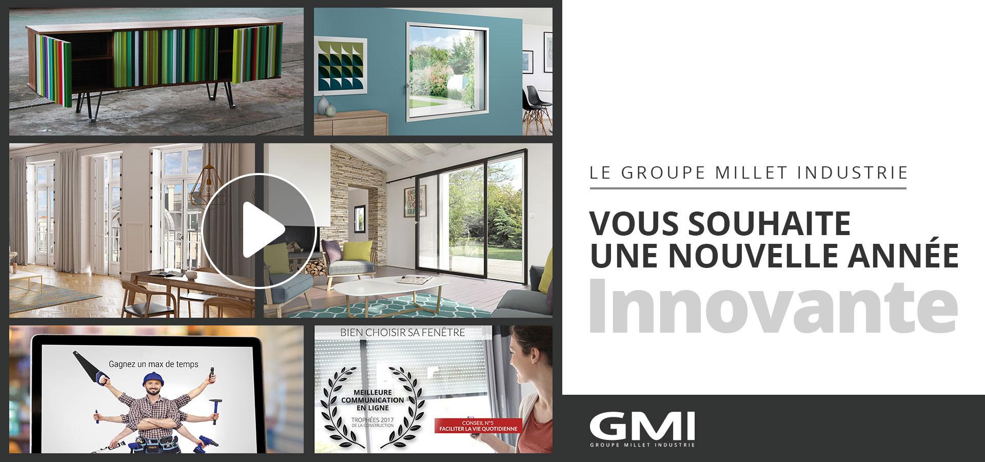Voeux des fenêtres SYbaie - Groupe GMI